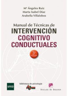 Manual de técnica de intervención cognitivo conductuales